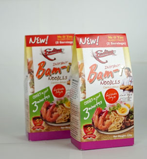 Best New Product - Snack Food and Confectioneries - Jeverps Manufacturing's Instant Bam-I Noodles