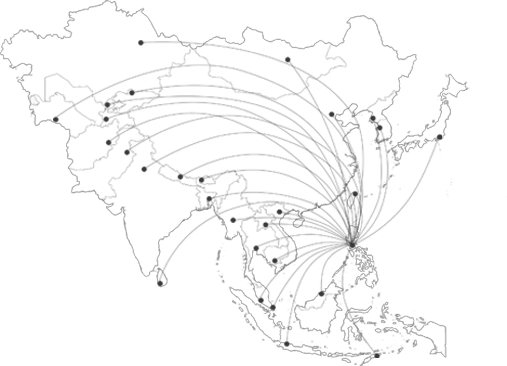 Reasons 1 : The Philippines is strategically located in major Asian markets.
