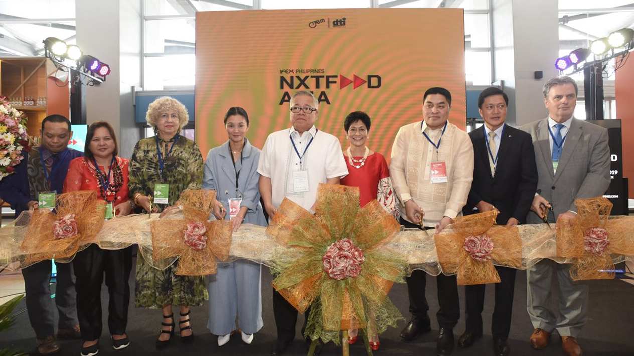 IFEX Philippines NXTFOOD ASIA 2019 opens to overwhelming response