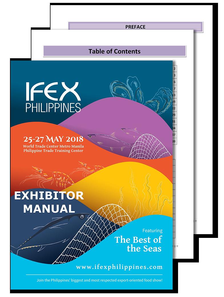 IFEX PH EXHIBITOR MANUAL