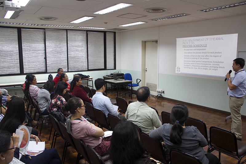 IFEX Philippines 2018: Thermal Process Seminar