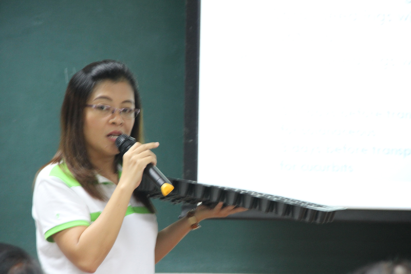 IFEX Philippines 2018: Urban Gardening Seminar